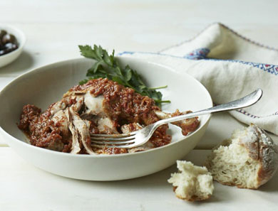 Braised Cinnamon Chicken (Kapama)