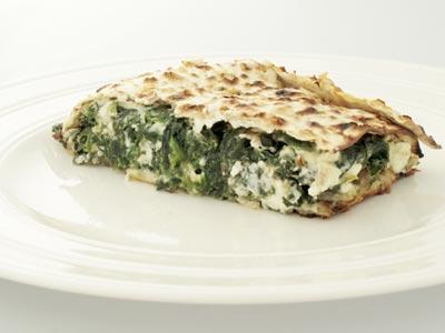 Mina de Espinaka (Matzo and Spinach Pie)