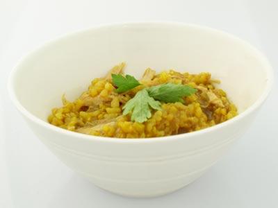 Sorba bi Djaj (Chicken Soup with Rice)