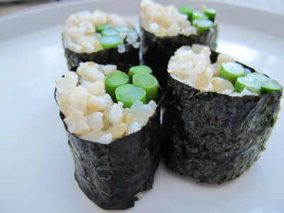 Vegetable Sushi | Goop