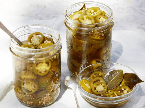 Bourbon Pickled Jalapenos
