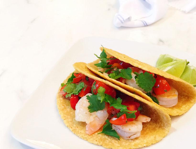 Baja Style Shrimp Tacos