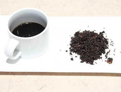 Black Sesame and Goji Berry Tea