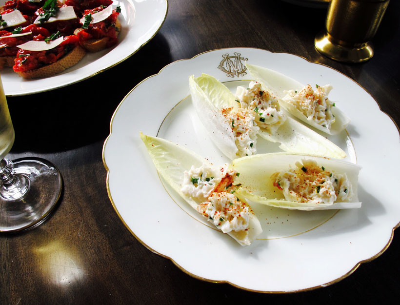 Crab Salad in Endive