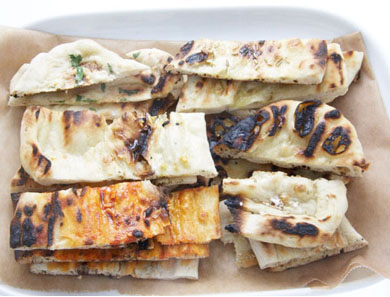 Grilled Homemade Flatbreads