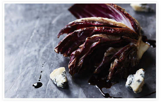 Grilled Radicchio Wedge
