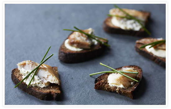 Smoked Trout on Rye