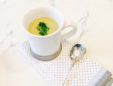 Leek and Celery Root Soup
