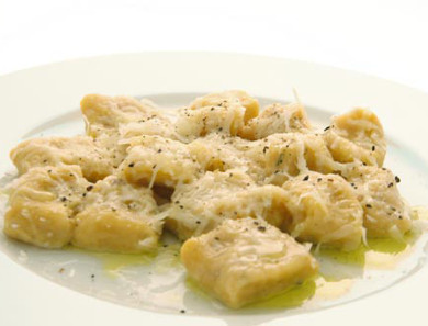 'Thanksgiving gnocchi' from the River Café