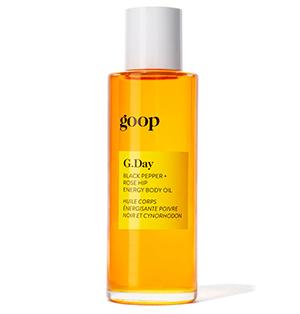 G.Day Black Pepper + Rosehip Energy Body Oil