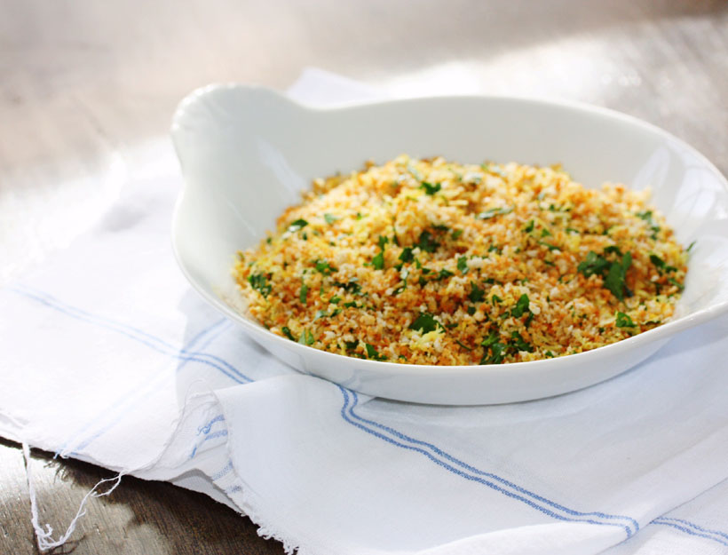 Gremolata Bread Crumbs