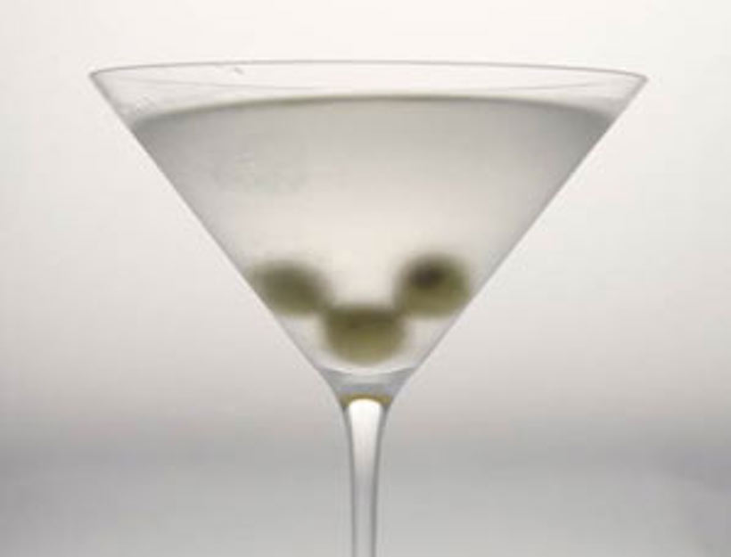 Gwyneth's Best Dirty Martini