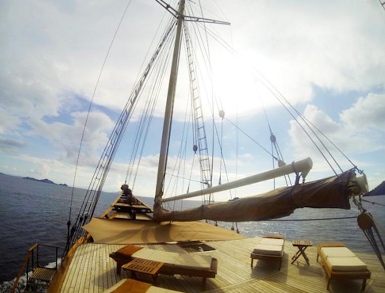 Sailing the Indonesian Archipelago