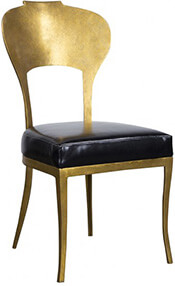 Beverly Side Chair (Subtly exotic, these manage to be glamorous and simple at once.)