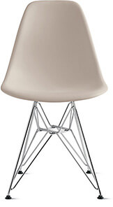 Eames Side Chair (A sturdy, wonderfully designed classic that wears really well—plus, you can just wipe it clean (pretty essential if you have kids).)