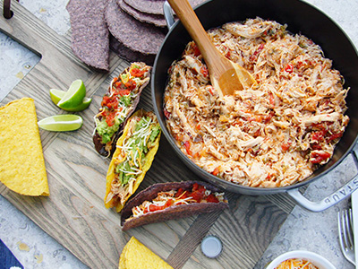 Braised Mexican Chicken