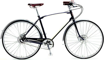 Shinola Bixby Bicycle in Navy