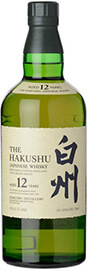 Suntory Hakushu 12 Year Old Japanese Peated Single Malt Whisky