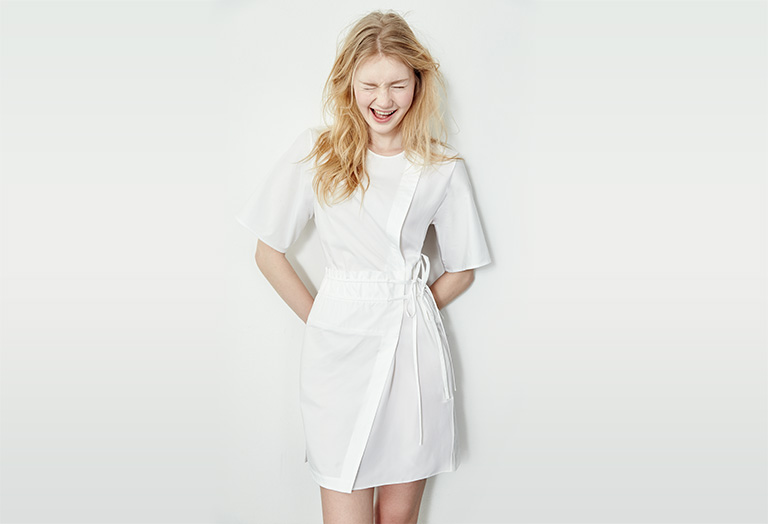 3.1 Phillip Lim Short Sleeve Dress