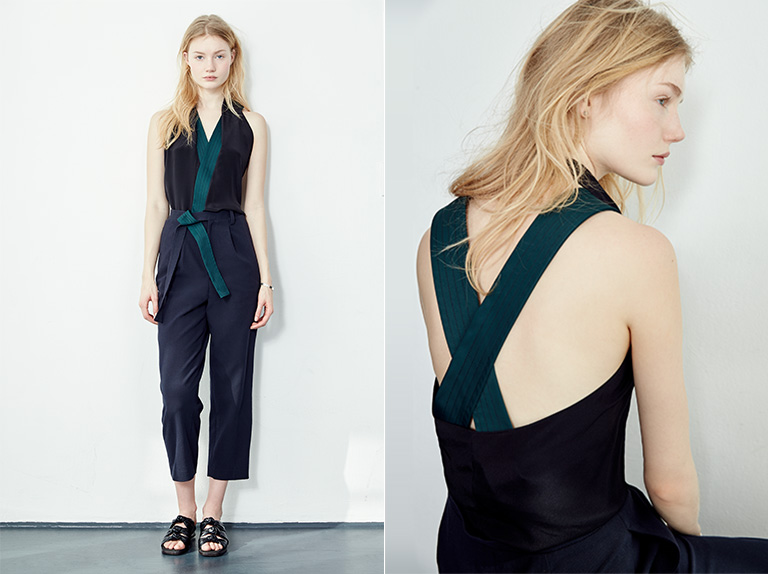 3.1 Phillip Lim Draped Jumpsuit