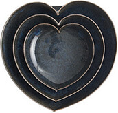 JD Wolfe Heart Bowls