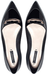 ZARA Pointed Ballerinas