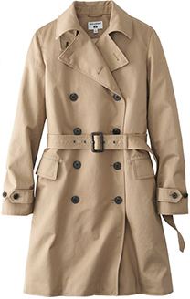 UNIQLO Ines De La Fressange Trench Coat
