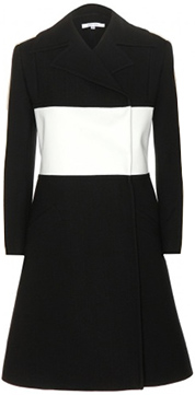 CARVEN Crepe Coat
