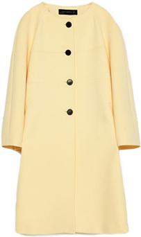 ZARA Bell Sleeve Coat