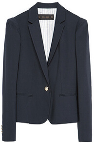 ZARA Blazer with Gold Buttons