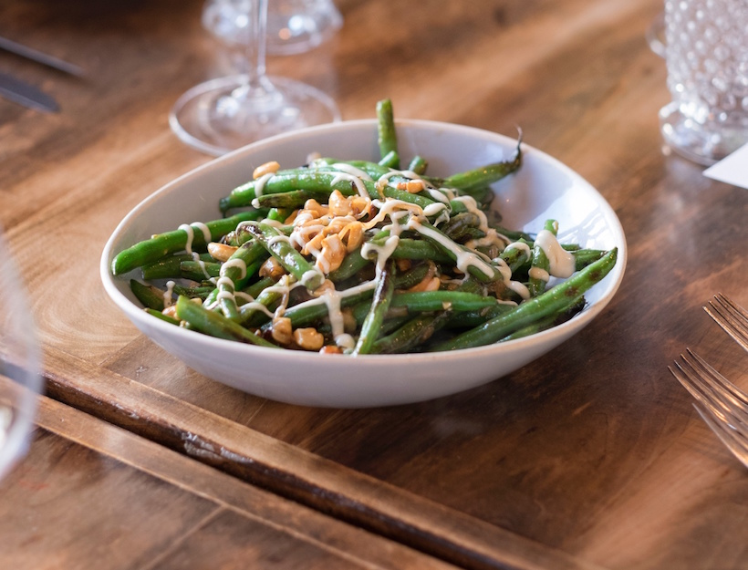 Green Beans with Girl & the Goat Sauté