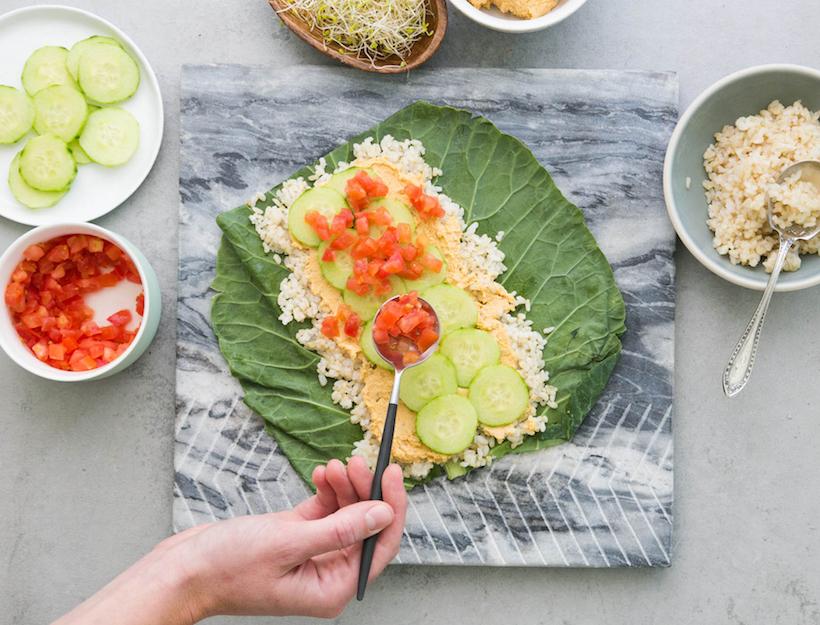 Spicy Hummus KyeRito