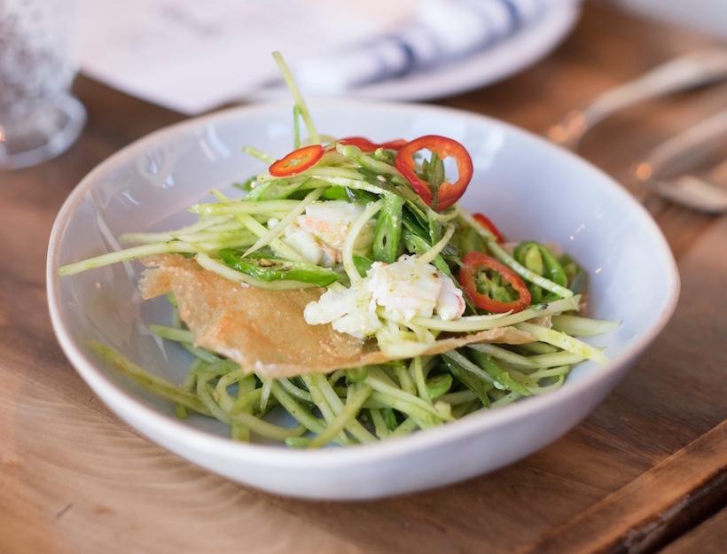 Lobster & Green Papaya Salad