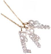 JENNIFER CREEL Diamond Name Charms