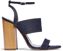 TABITHA SIMMONS Denim Sandals