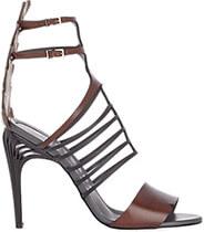 FENDI Double-Strap Sandals