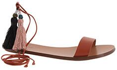 J. CREW Tassel Sandals