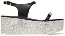 STELLA MCCARTNEY Flatform Sandal