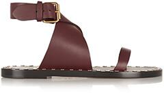 ISABEL MARANT Janis Studded Leather Sandals