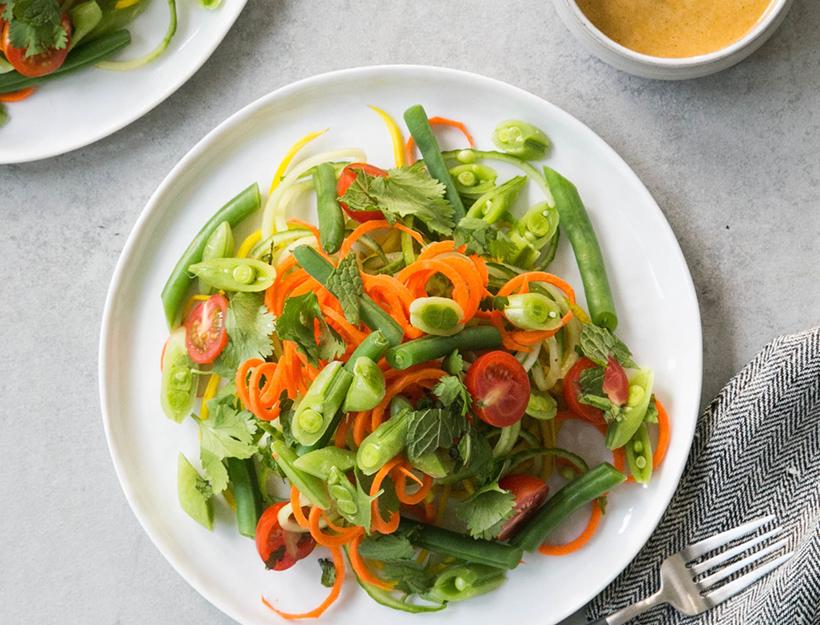 Green Papaya-Style Salad