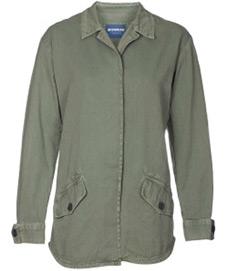 Monrow Vintage Shirt Jacket