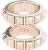Valentino Platinum Double Band Ring