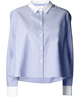 Band Of Outsiders Boxy Shirt