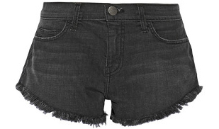 Current/Elliott The Gam Cut-off Stretch-denim shorts, Net-A-Porter