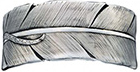 Feather Bracelet, Montana Silversmiths