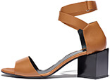 PIERRE HARDY Monolite Cubic Mid Heel Sandal