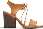 MADEWELL BOOTIE IN BROWN LEATHER