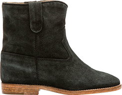 Isabel Marant Black Suede Crisi Boots, Ssense