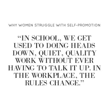 Why Women Struggle With Self-Promotion