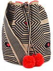 SOPHIE ANDERSON Lilla Cotton Woven Shoulder Bag